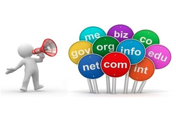 Check domain name availability extensions